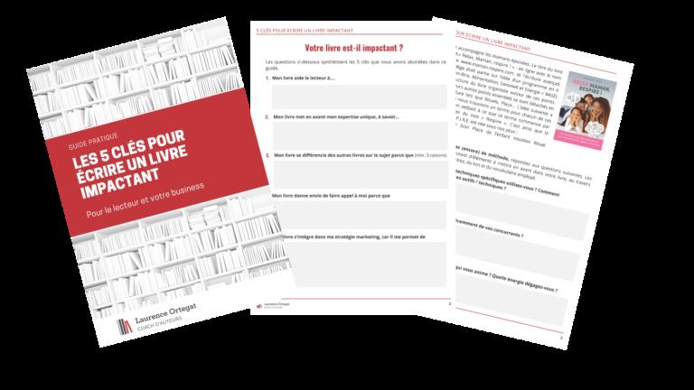 5 clés livre pro impactant
